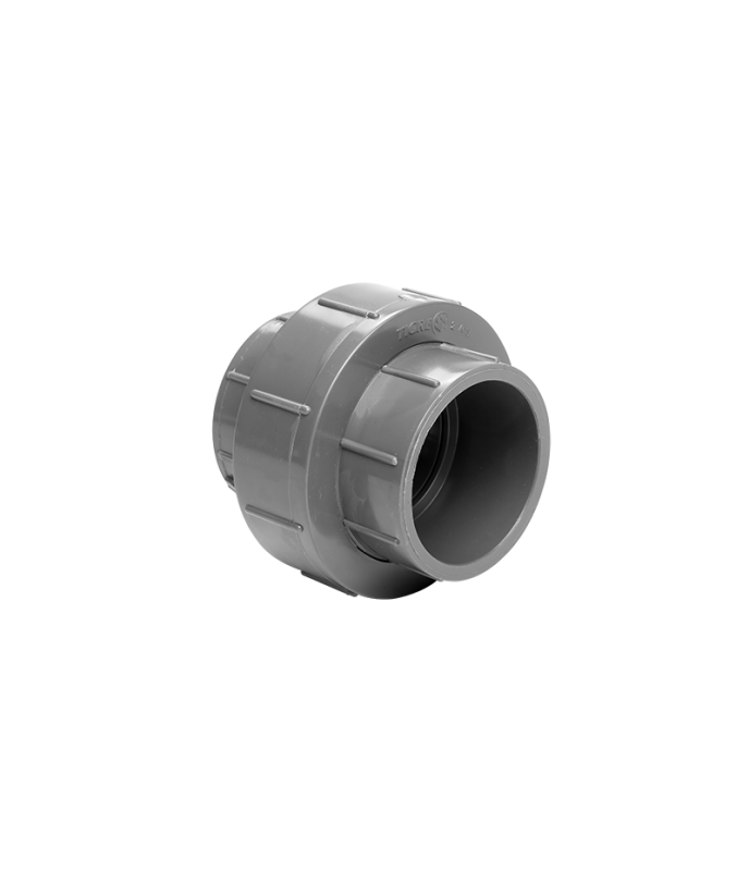 UNION DOBLE DIAM Ø 63mm PVC