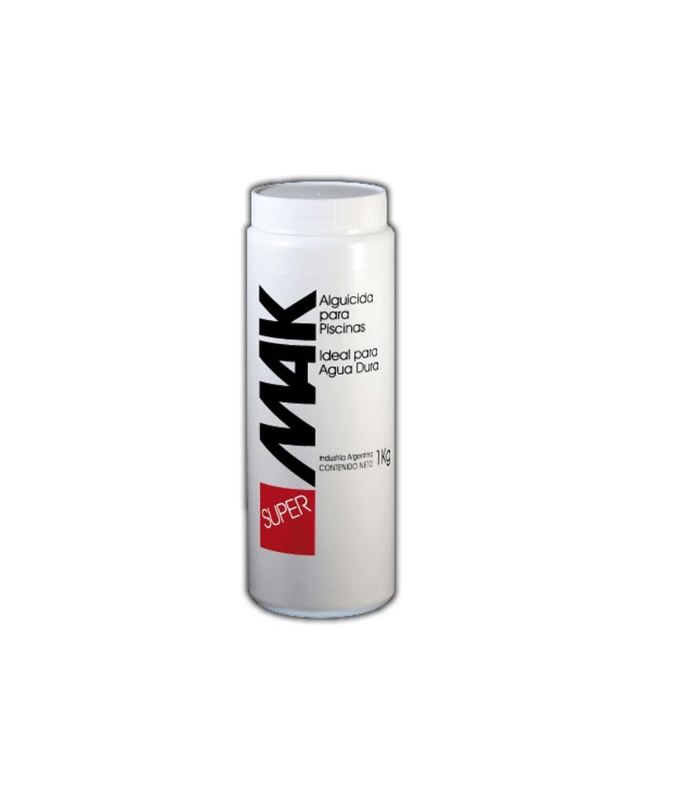 Mak Super X 1 Kg Alguicida Para Aguas Duras