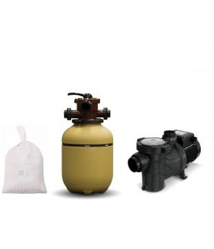 Filtro Vc 20 mas Bomba 1/3 Hp Bas 033 mas Carga, Marca Vulcano