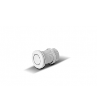 Pulsador Neumático Blanco Vulcano 32mm Pileta Hidromasaje