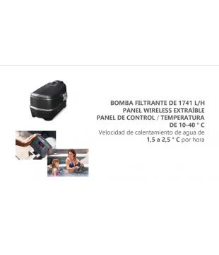 Spa Hidromasaje Inflable Intex Climatizado Greywood Deluxe