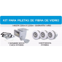Kit P/Piletas De Fibra - Skimmer - Retorno