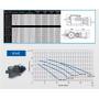 Kit - Limpiafondo  cepillo + limpiafondo c/ruedas +Manguera 12m + Acople + Abrazadera