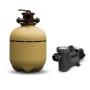 Kit Luces Para Pileta - 2 Artef Led Rgb + Fuente 3A + Controladora
