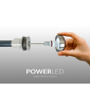 Kit Luces P/ Pileta, 3 Power Led 4,5w Rgb + fuente + controladora Rgb